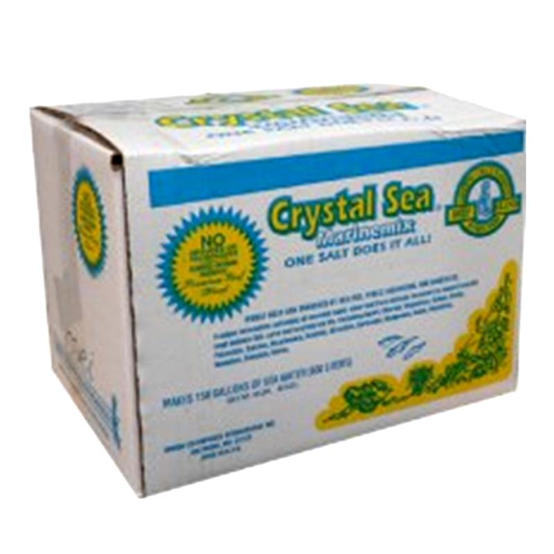 crystal sea salt 150 gallon mix � crystal clear aquarium